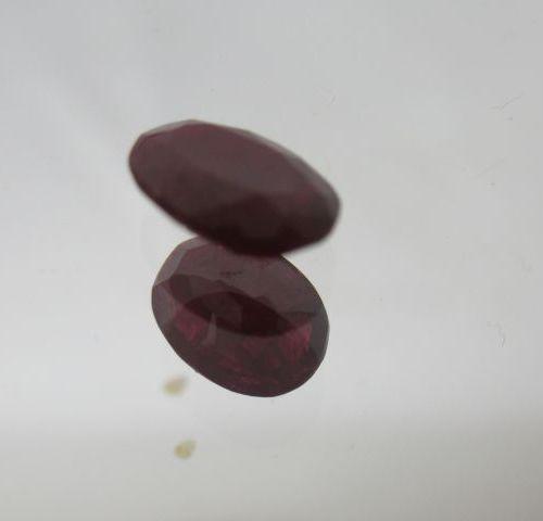 Rubis (de Madagascar). Poids : 1,86 carats. Avec son certificat.