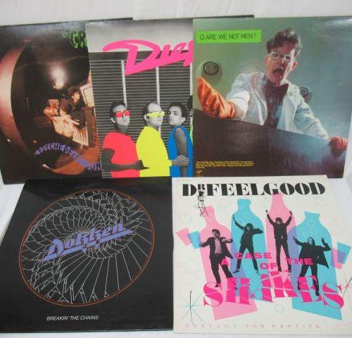 Lot de 5 vinyles 33 tours : Docteur Feel Good, Dokken, Diesel, Are we not men ?,…