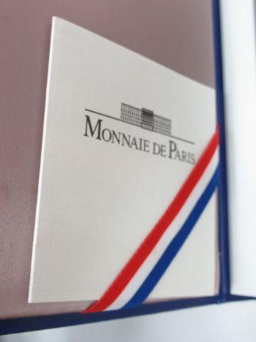MONNAIE DE PARIS Coffret comprenant la série d'euros de 1999. Avec son certifica…