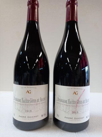 2 Magnums (150cl) 2018. Hautes Côtes de Beaune. Bourgogne. André Goichot