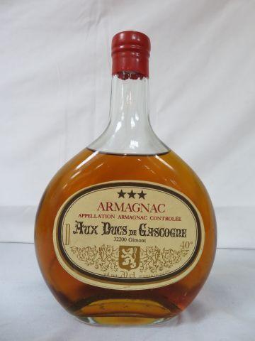 Bouteille d'Armagnac, Aux Ducs de Gascogne, 70 cl