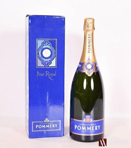 1 magnumChampagne POMMERY Brut RoyalNMPresentation and level, impeccable. Origin…