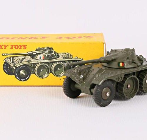 DINKY TOYS Panhard Armoured Reconnaissance Vehicle Ref 80A (original box, minima…