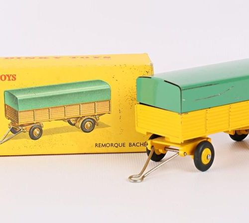 DINKY TOYS Covered trailer Ref 70 (original box, box wear)