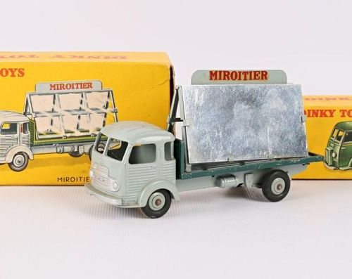 """DINKY TOYS Mirror Simca """"cargo"""" Ref 33C An empty box is joined to it. 25BV mail …"""