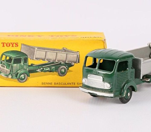 "DINKY TOYS Simca ""cargo"" dumper Ref 33B (original box, minimal wear and tear)"