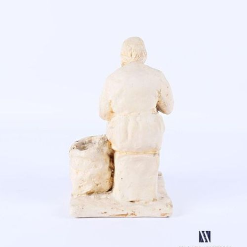 French school of the 20th century Enoiseuse Plaster sculpture Titled on the base…