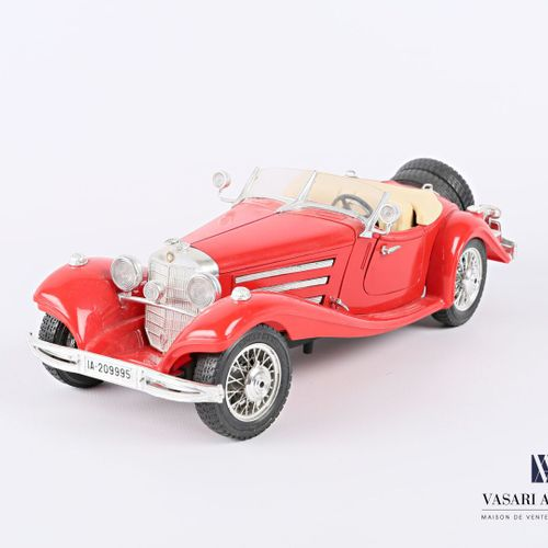 BURAGO (Italy)  Car 1/20 Mercedes Benz 500K Roadster (1936)  (state of use)