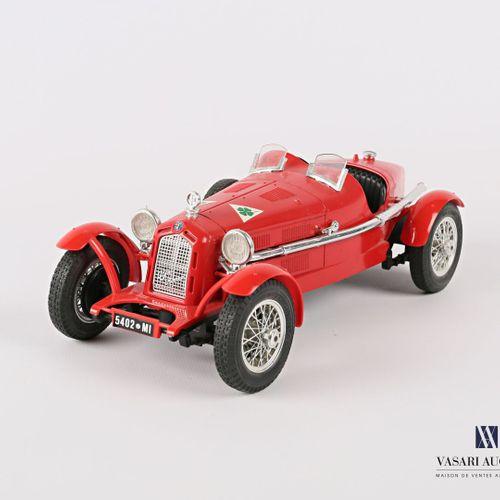 BURAGO (Italy)  Car 1/18 Alfa Romeo 2300 Monza (1934)  (state of use)