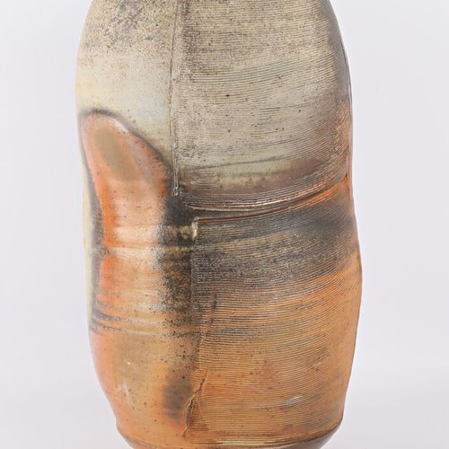 ASTOUL Éric (born in 1954)  Large free form stoneware vase  Signed and dated 200…