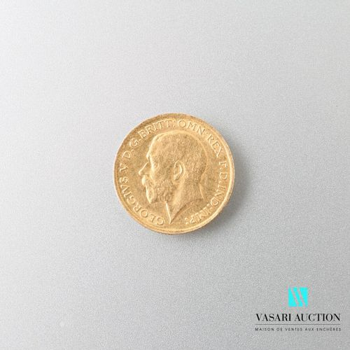 Gold coin George V 1915  Weight : 3,98 g