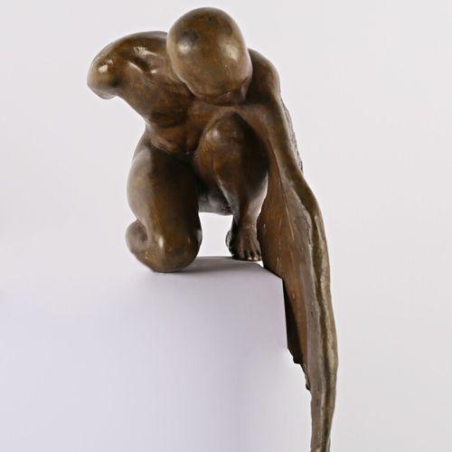 SOIA Barbara (née en 1955)  Tropisme  Bronze à patine brune  Epreuve d'artiste n…