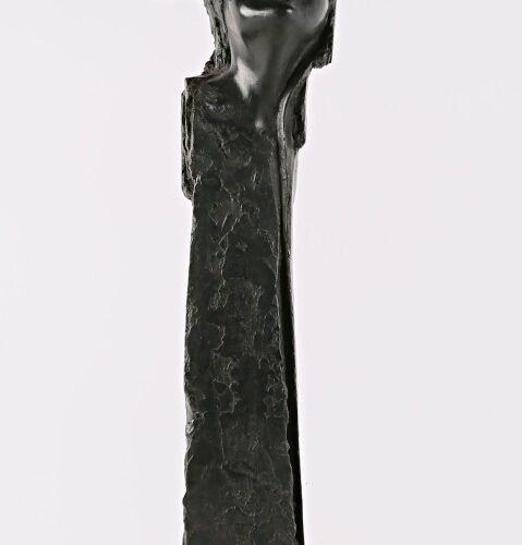 SOIA Barbara (née en 1955)  Sur la pointe des pieds  Bronze à patine noire  Numé…