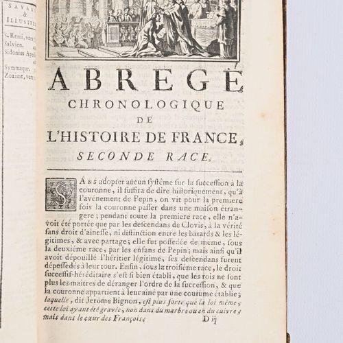 COLLECTIF Nouvel abrégé chronologique de l'histoire de France Paris Prault père …