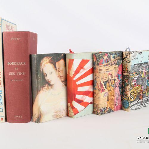 [BORDEAUX & DIVERS]  Lot comprenant six ouvrages :   BECAMPS Pierre 1940/1944 La…