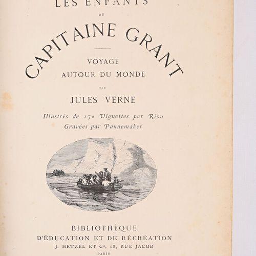 VERNE Jules Les enfants du capitaine Grant Paris Bibliothèque d'éducation et de …