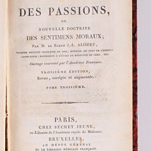 BARON ALIBERT J L Physiologie des passions ou nouvelle doctrine des sentiments m…