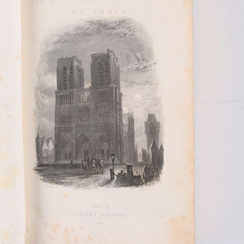 HUGO Victor Notre Dame de Paris Paris, Eugène Renduel, 1836 1 vol. In 4° reliure…