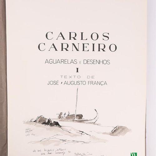[CARNEIRO CARLOS]  CARNEIRO Carlos Texte de José Augusto França un volume in pla…