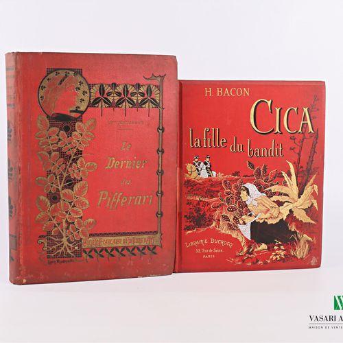 [JEUNESSE]  BACON H. Cica la fille du bandit Paris Librairie Ducrocq sd un volum…