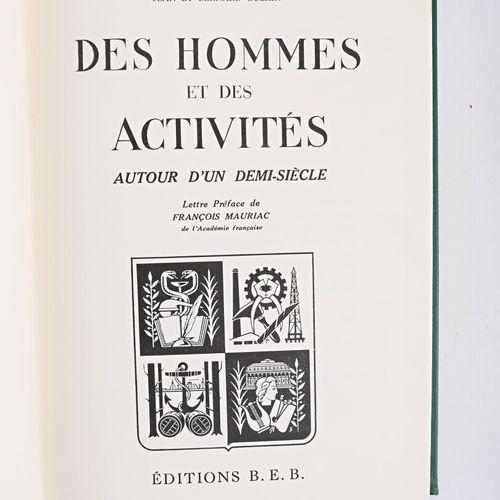 GUÉRIN Jean et Bernard Des hommes et des activités autour d'un demi siècle Éditi…