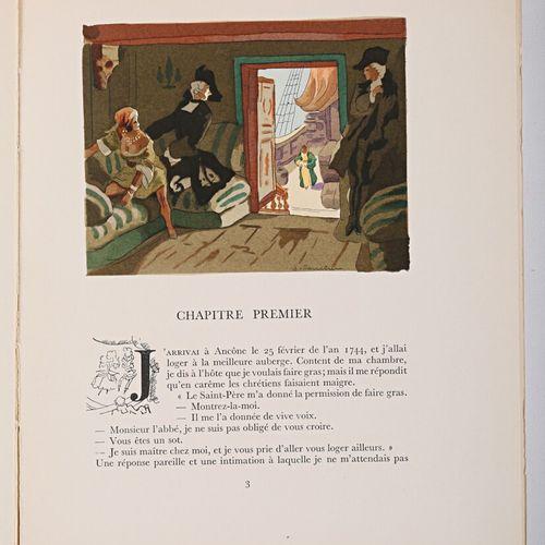 CASANOVA Mémoires Tome 1 à 12 Paris, Paul Cotinaud, Editions du Rameau d'or, sd …