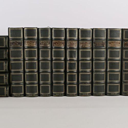 [ANATOLE FRANCE]  Oeuvres Complétes Paris, CALMANN LEVY, 1925 35 Tome I à XXII 2…