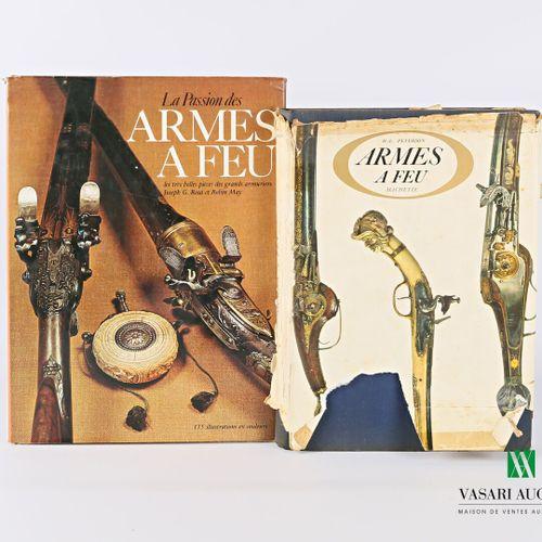 [ARMES A FEU]  Lot comprenant deux ouvrages :   PETERSON H L Armes à feu 1 vol. …