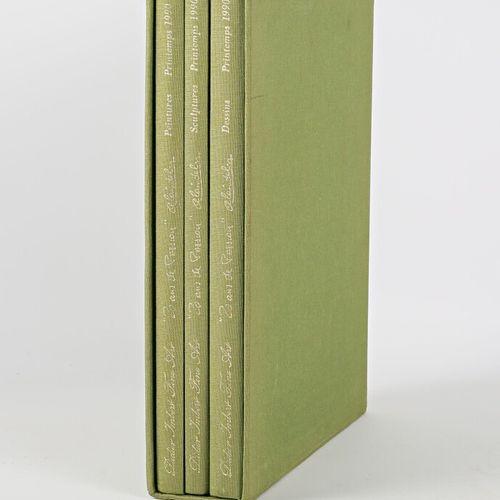 """[ART]  Coffret """"20 ans de passion"""" comprenant trois volumes Peintures Sculptures…"""