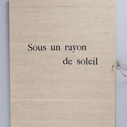 GERARD Rolf et texte de Lise Deharme Sous un rayon de Soleil Huit lithographies …