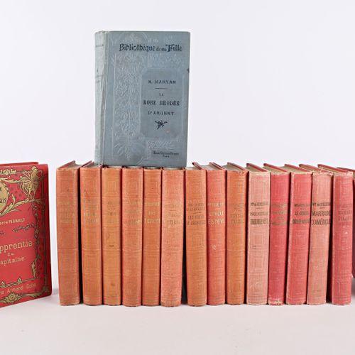 [JEUNESSE]  Lot de dix sept volumes livres de jeunesse essentiellement de la Bib…