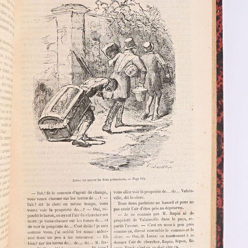 SOULIE Frédéric Les mémoires du diable sd un volume in 4° reliure demi basane ro…