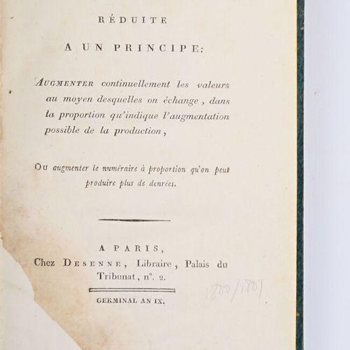 VITROLLES Eugène François Auguste Arnaud baron de De l'économie publique réduite…