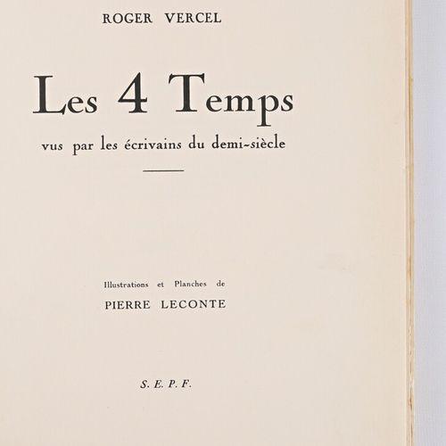 VERCEL Roger Les 4 Temps vus par les écrivains du demi siècle Dinard, SEPF, 1950…