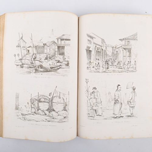 DUMONT D'URVILLE Voyage pittoresque autour du monde Paris chez L. Tenré 1834/183…