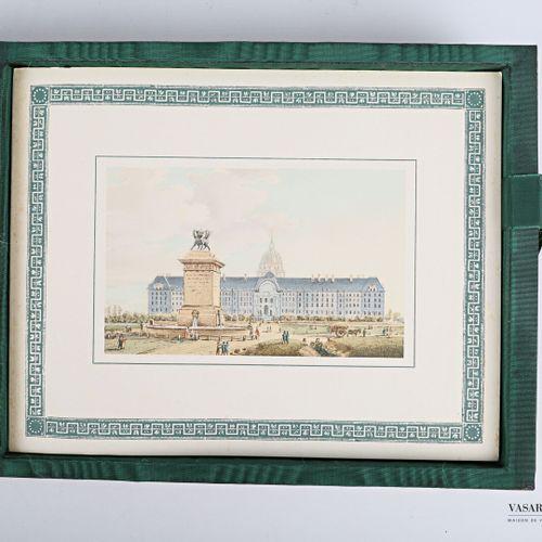 Nicolle Victor Jean Schommer Pierre Monuments de Paris. 1810. Hommage de l'Emper…