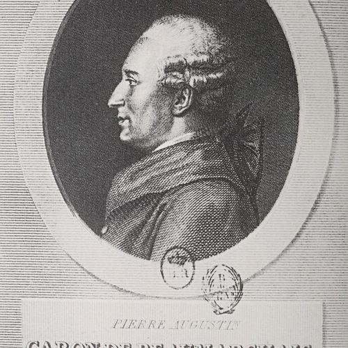 BEAUMARCHAIS Pierre Augustin Caron de 1732 1799 Beaumarchais sa vie et son oeuvr…