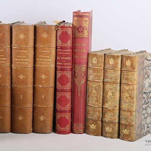 [LITTERATURE ET DIVERS]  HOUSSAYE Henri La première restauration, le retour de l…
