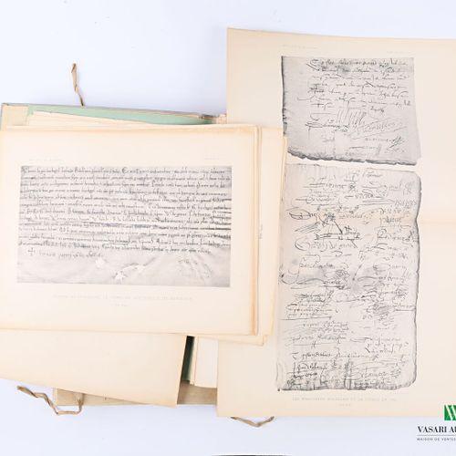 [REGIONALISME BORDEAUX]  Société des archives historiques de la Gironde Autograp…
