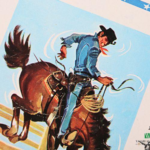 Lot comprenant quatre revues Tintin N°1125 à 1127 et N°950, quatre volumes in 16…