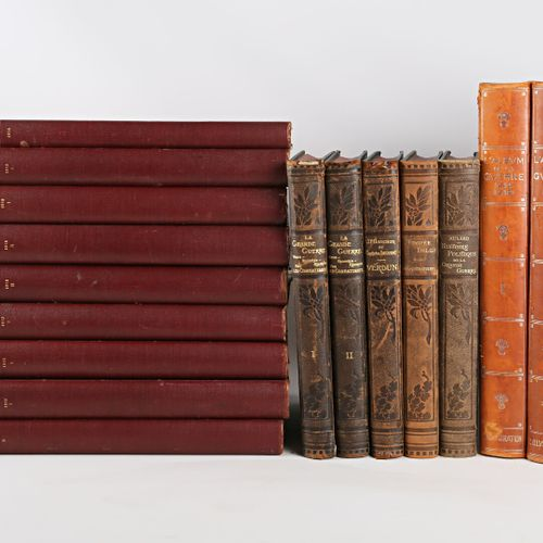 [HISTOIRE GUERRE & L'ILLUSTRATION]  Lot comprenant seize ouvrages :   Edition Ar…