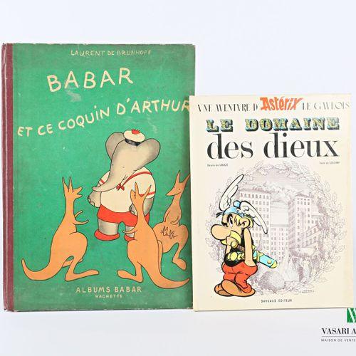 [JEUNESSE]  Lot comprenant deux ouvrages :   de BRUNHOFF Laurent Babar et ce coq…