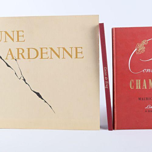 Lot comprenant trois volumes :   HOLLANDE Maurice Connaissance du vin de champag…