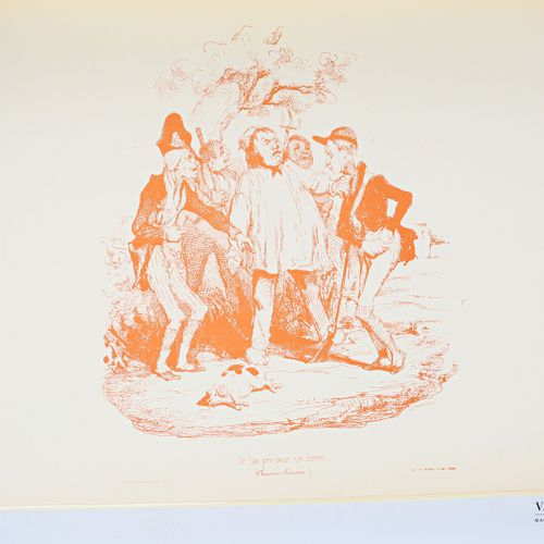 ROSSEL André Daumier La chasse préface de Henri de Linarès Rive Gauche Productio…