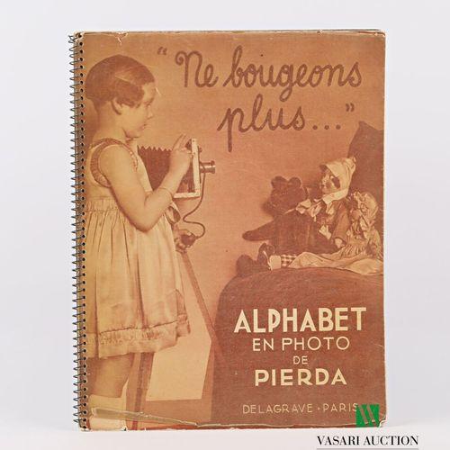 [JEUNESSE]  PIERDA Alphabet en photo Paris Delagrave sd un volume in 8° reliure …