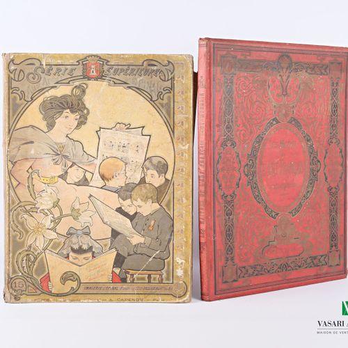 Lot comprenant deux ouvrages :   VALLIER Robert Les Maîtres de l'Art Français co…