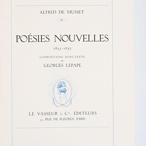 [ALFRED DE MUSSET]  Oeuvres de Alfred de Musset Compositions hors texte de Georg…