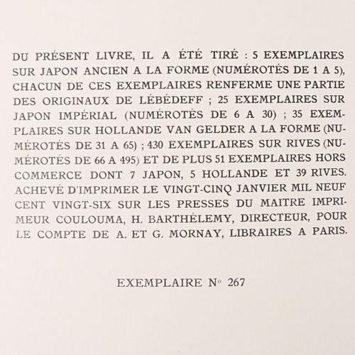 KOUPRINE Alexandre La fosse aux filles Paris, Mornay, 1926 1 vol. In 4° broché i…