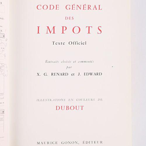[HUMOUR]  RENARD X.G EDWARD J. Code général des impôts Texte Officiel Maurice Go…