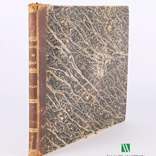 DULAURE J L Atlas Histoire physique, civile et morale de Paris Sixième édition a…